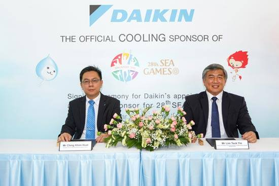 Daikin, SINGSOC, SEA Games