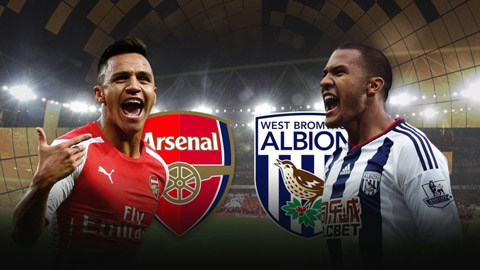 Link SopCast, Ace Stream xem trận Arsenal vs West Brom