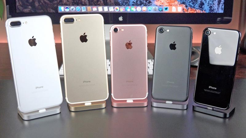 iPhone 7, iPhone 7 Plus, Apple, Samsung, Galaxy S8, Galaxy S8 Plus, smartphone