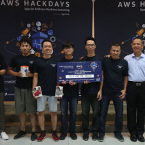 OCR For the World giành chiến thắng tại AWS Hackdays 2018